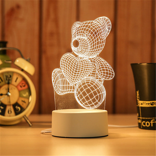 NEW*** 3D LED Table Light 2