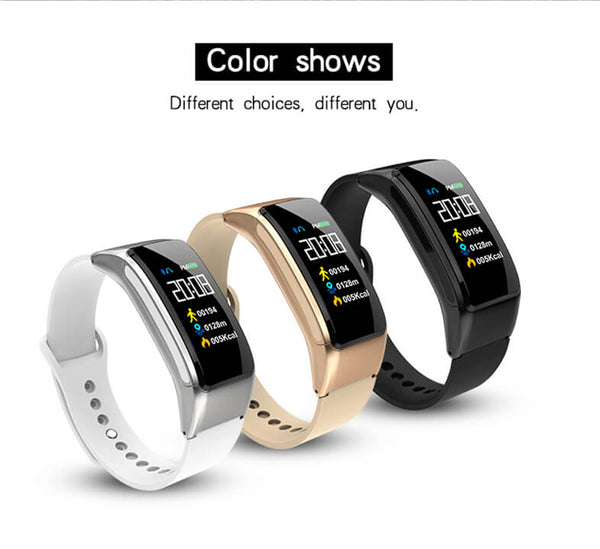 Smart Bracelet B31 with Bluetooth Headset Talk Smart