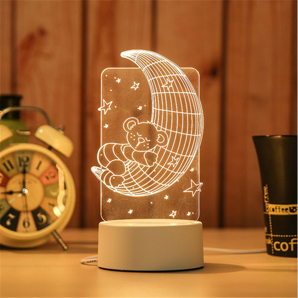 NEW*** 3D LED Table Light 6
