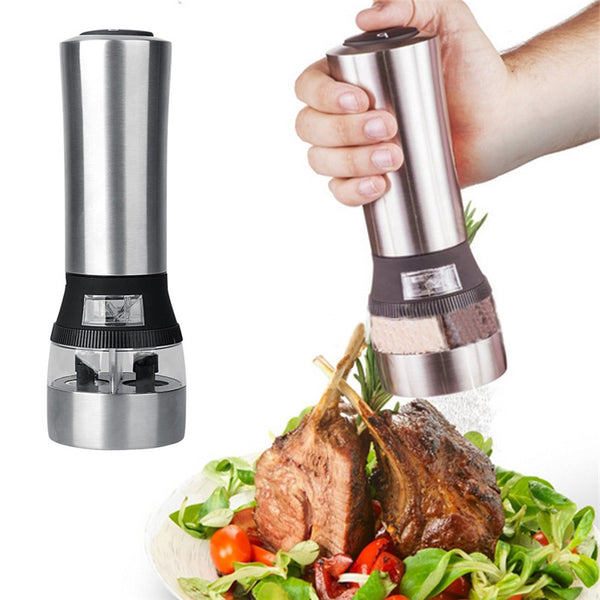 2 IN 1 ELECTRIC PEPPER MILL