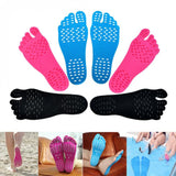 Best 1 Pair Adhesive Foot Pads Feet Sticker Stick On Soles Flexible Anti-slip Beach Feet Protection