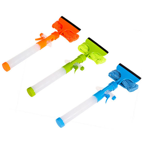 【Buy one get one free】Spray Water Brush Cleaner Glass Wiper Window Cleaner Home Tools