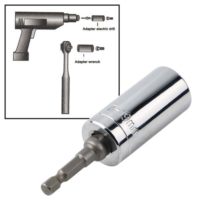 Multi Hand Tools 7-19mm Torque Wrench Head Set Socket Sleeve