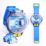Intelligence Watch Remote Control Car Toy Component Mini Cartoon RC Race  Radio Control Toy