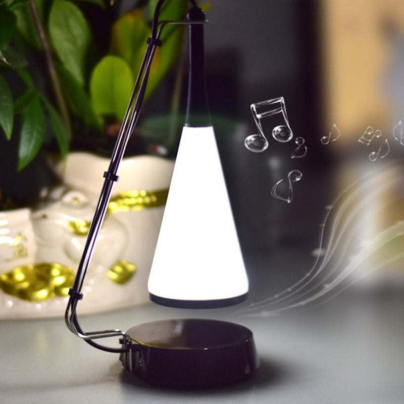 LED Table Lamp with Bluetooth Speaker Touch Music Desk Light Creative Home Decoration Lighting USB Bedside Lamp Birthday Gift