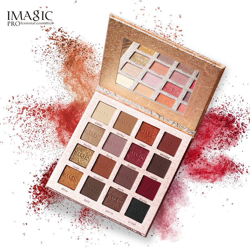16 Colors Palette Matte Eyeshadow New Shimmer Eyeshadow Glitter Palette Make Up Set