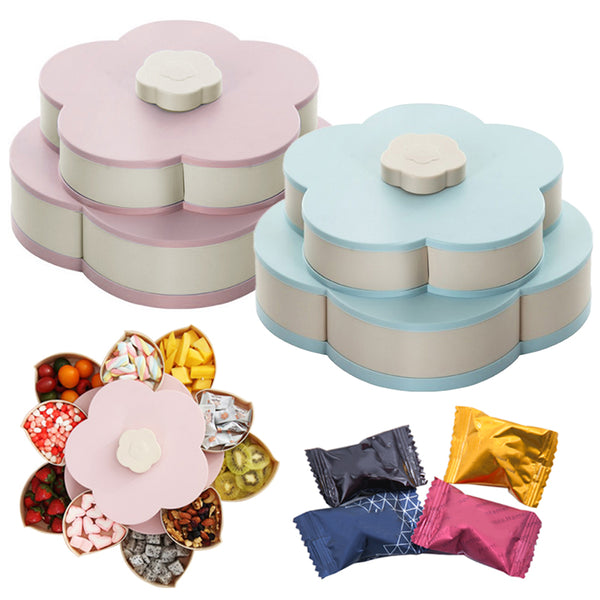 【HOT HOT HOT】Flower Bloom Snack Box