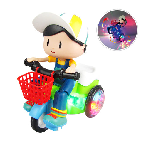50% OFF-Kids Electric Stunt Car Toy (Buy 2+ Extra 27% Off)