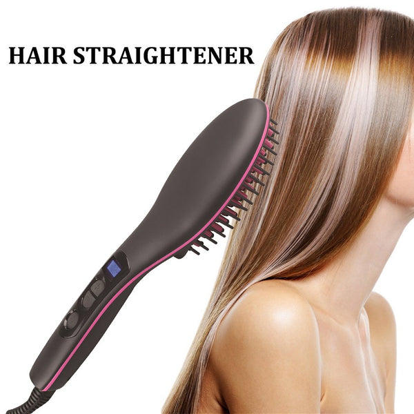 Hair Comb Hair Straightener Magic Hair Comb Anti-scalding And Comfortable Touch Rubbing Head