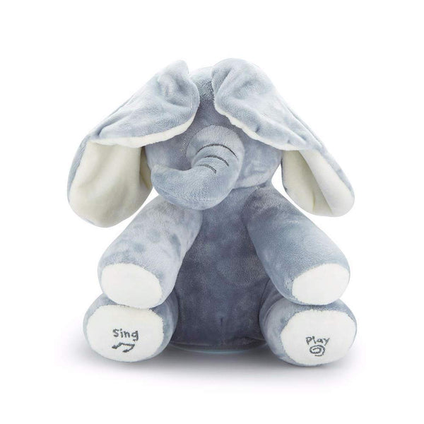 Flappy the Elephant  Singing Elephant Electric Stuffed Animals Plush Musical Doll Toy for Children