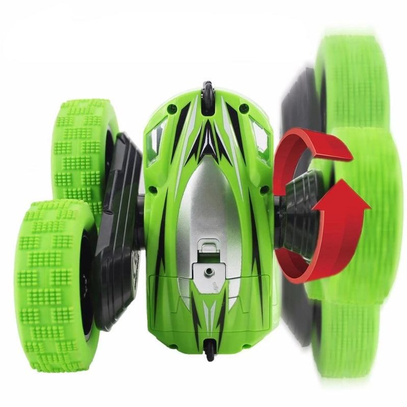 【HOT SALE】30% OFF-Stunt Twist Arm RC Racing Remote Control Rotatable Car with Light【حيلة تويست ذراع RC سباق】
