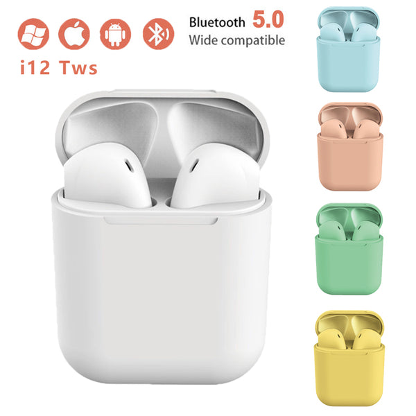 【HOT SALE】TWS Matte Bluetooth  Wireless Earphone