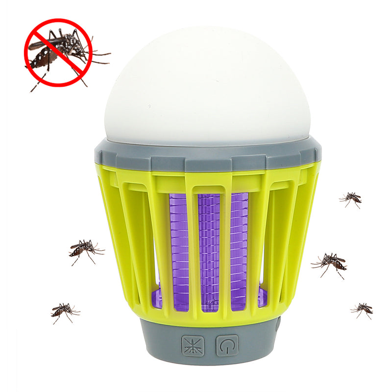 DC 3.7V USB Charging LED Camping Night Light Mosquito Dispeller Killer Lamp IPX 6 Outdoor Indoor