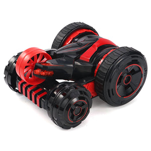 [Limited Time Sale]JJRC Q49 ACRO 2.4G 6CH RC Stunt Car Five-Wheel System 360° Rotation with One Key Transform RTR