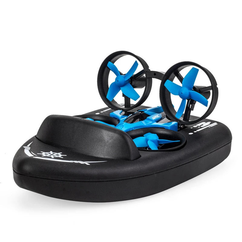 Upgrades Air, Sea and Land Tri-Habitat rc helicopter H36F Remote Control Simulation Hovercraft 2.4G Quadrangle Vehicle