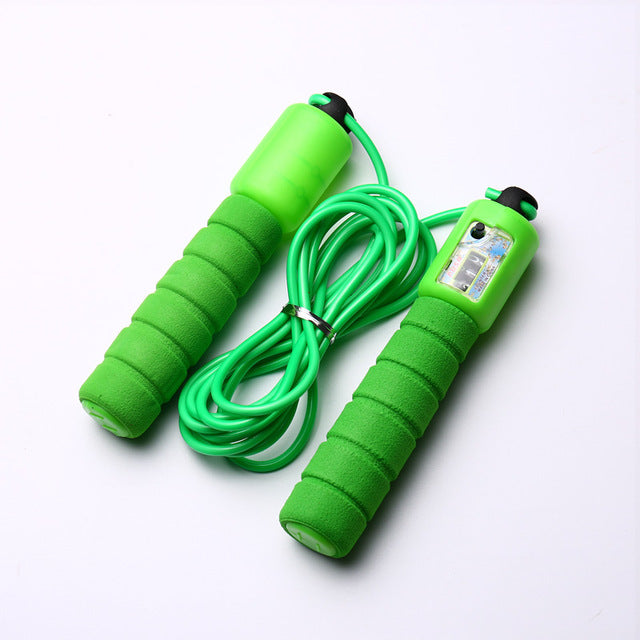 Jump Ropes with Counter Sports Fitness Adjustable Fast Speed Counting