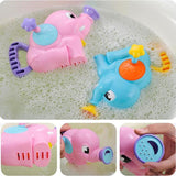 [Buy 1 get 1 free]Kids Shower Bath Toys Cute Elephant Watering Pot Toys