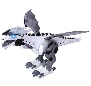 Large Spray Mechanical Dinosaurs With Wing Cartoon Electronic Intelligent Dinosaur Robot Pterosaurs Kids Toys