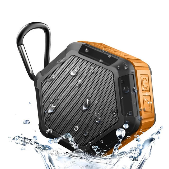 M&J Mini Portable Outdoor Sports Wireless IP67 Waterproof Bluetooth Speaker Shower Bicycle Speaker For Phone Play In Water