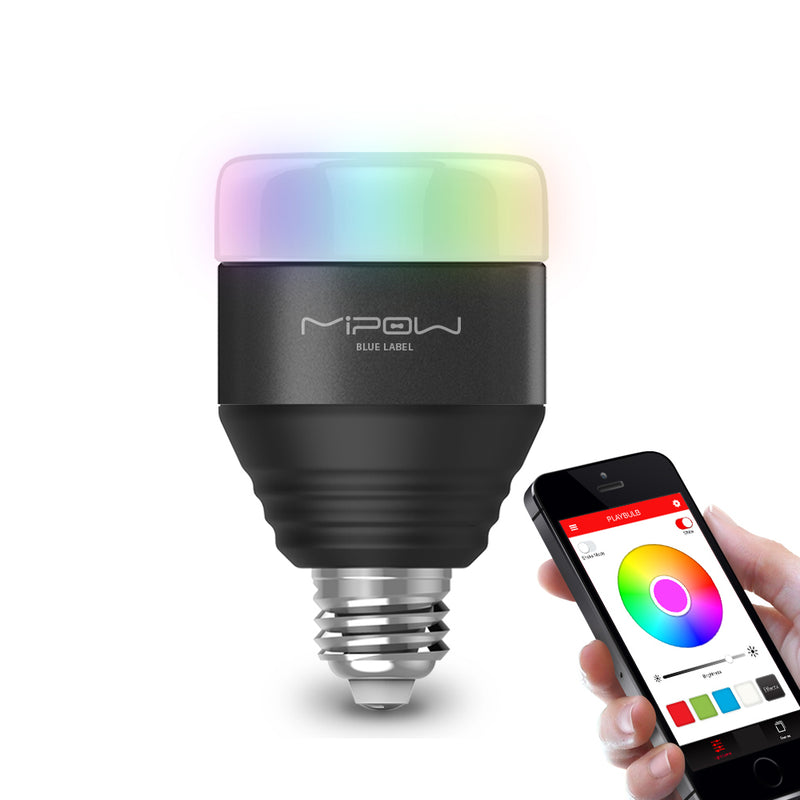 LED E26/E27 WIFI Smart Bulb Magic Lamp Dimmable Wake-Up Light Bluetooth APP Control RGB Multi Colors
