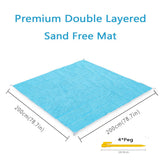 Beach Mat Magic Sand Mat Outdoor Camping Beach Self-driving Tour Beach tower