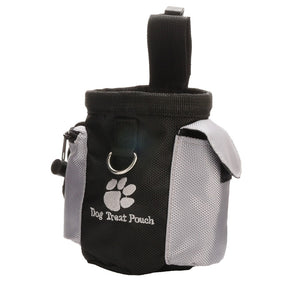 Mayitr 1pc Puppy Pet Agility Bait Training Waterproof Dog Bag Walking Food Snacks Bait Waist Bag Pet Supplies Accessories