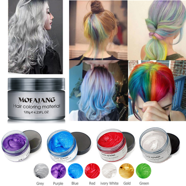 (Buy 1 GET 1 free)  Washable Hair Pomades Natural  Matte Hairstyle Wax for Men and Women