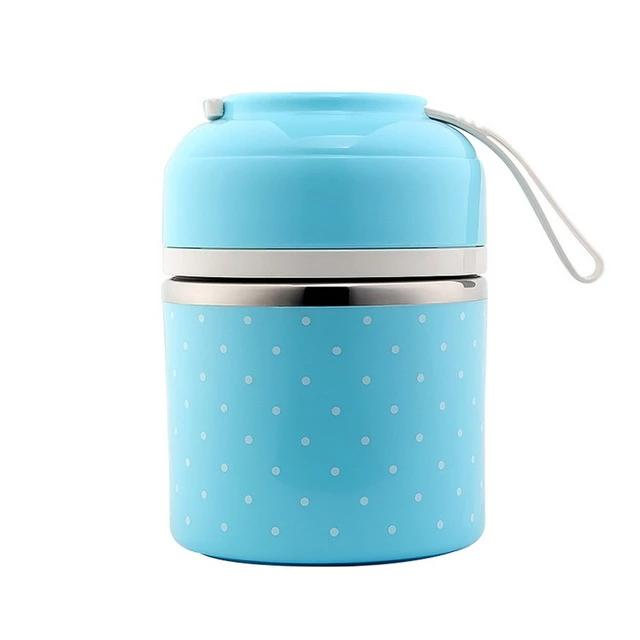 Portable Bento Lunch Thermo box Leak-Proof Stainless Steel Cute Food Box Container Kids Picnic School Hot Sale