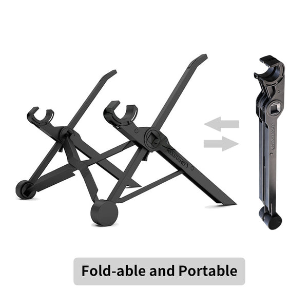 New Laptop stand folding portable adjustable laptop lap desk office ergonomically notebook stand