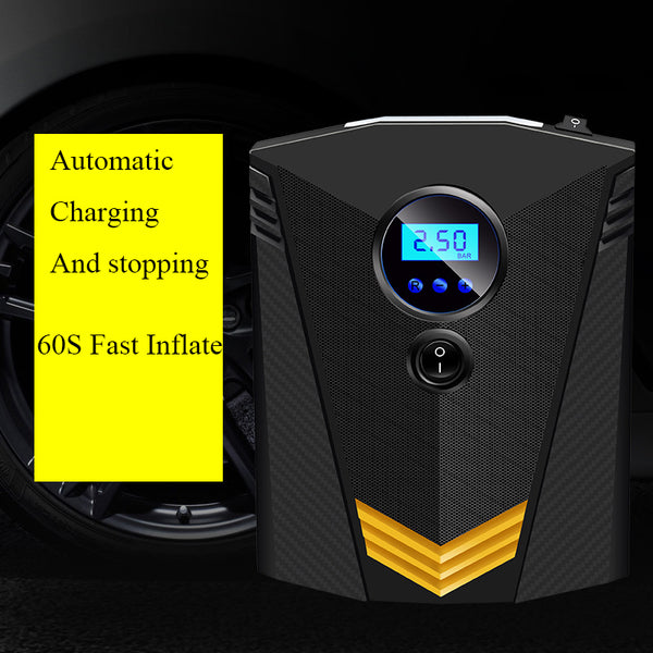 New Digital Tire Inflator DC 12 Volt Car Portable Air Compressor Pump 150 PSI Auto Aire Pump for Car Motorcycle LED Light