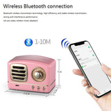 New Style Mobile Phone Bluetooth Speaker Innovative Radio Retro Portable Mini Speaker Loudspeaker Wireless Bluetooth Speakers
