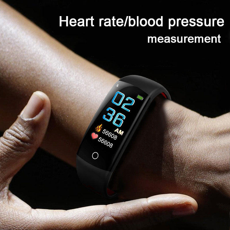 Q6S Smartband 3D Dynamic Blood Pressure Heartrate Monitor IP68 Smartband