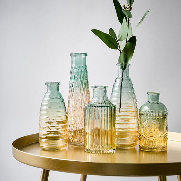 Nordic Wedding Vase Glass Vase Flower Modern Decorative Vases Nordic Home Decoration Accessories