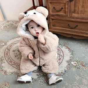 Cute Super Cute Baby Clothes Infants Outdoor Clothes Cimbing Clothes Baby Onesies
