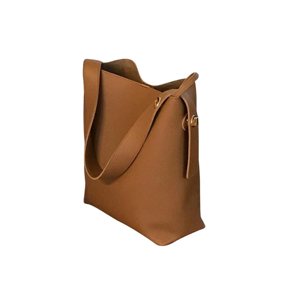 【HOT SALEING】 Simple one-shoulder bucket female bag slung large capacity big bag