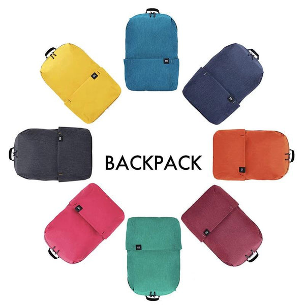 Original Colorful Small Backpack 10L Capacity 8 Colors Four Levels Of Water Repellent Leisure Sports Chest Bags Unisex