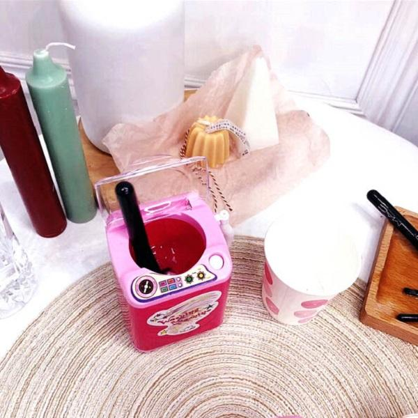 [Buy one get one free]Mini Washing Machine Cosmetic Powder Puff