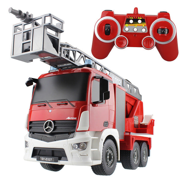Fire Truck Radio Control Building Model Car