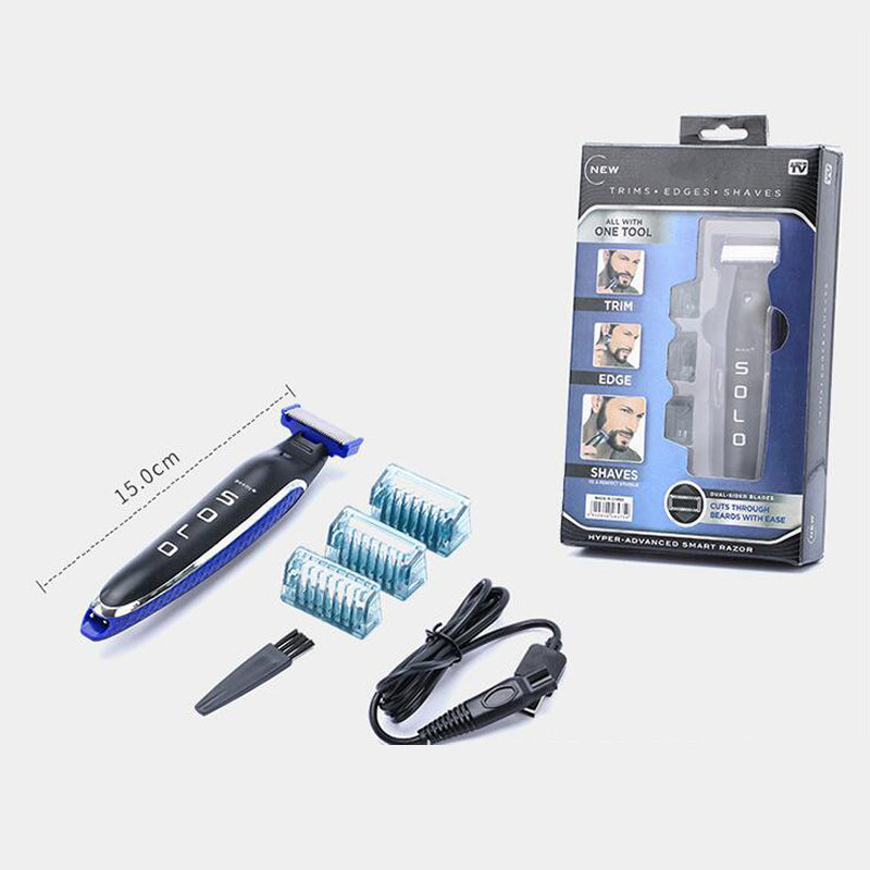 Replaceable Shaver Head Accessories Micro-Touch Solo Beauty Beard Shaver Cleaning Machin