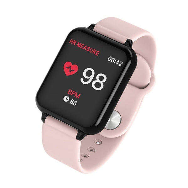 Smart Watch B57C Smartwatch Men Women Sports Fitness Tracker Heart Rate Monitor Call Message Remind Phone Watch For iOS Android