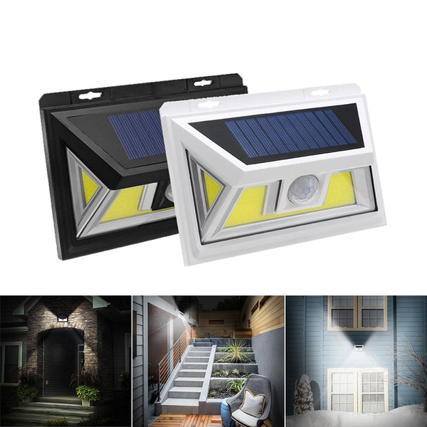 Solar Light COB Motion Sensor Light Outdoors Light Solar Lamp
