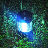 Super Deals 12 LED 5W ABS Ultra Bright Outdoor Handle Camping Lamp Tent Compass Emergency Light Flood Light Camping Lights