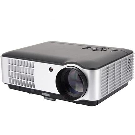 【Mini Projector】 LED Projector Full HD 4K Supported  DVD Player, Smartphone Home Theater Entertainment