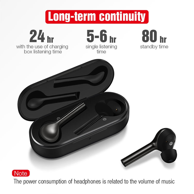TWS Bluetooth Wireless Earphone Headphones Freebud Touch Control Sport Headset With Dual Microphone For Mobile Phone