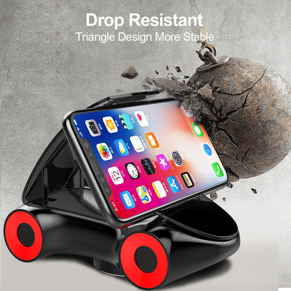 Universal 360 Degree Rotation Sports Car Style Phone Stand Holder