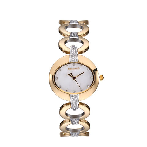 HOT ITEM - Oval Diamond Watch Bracelet