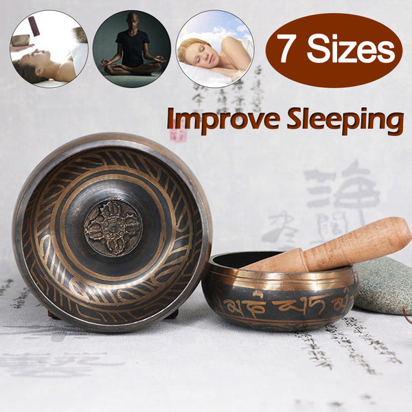 Religious accessories yoga meditation chanting prayer meditation echo bowl