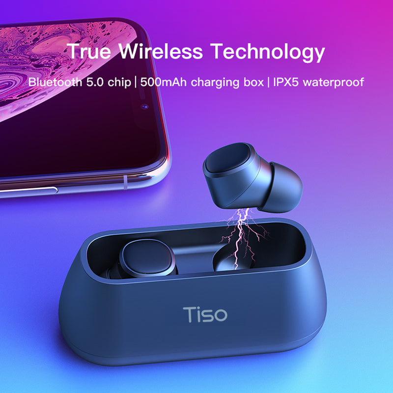 6f2a183dcb7 ... i4 Bluetooth 5.0 earphones TWS true wireless stereo 3D headphone sports  IPX5 waterproof headset with dual ...
