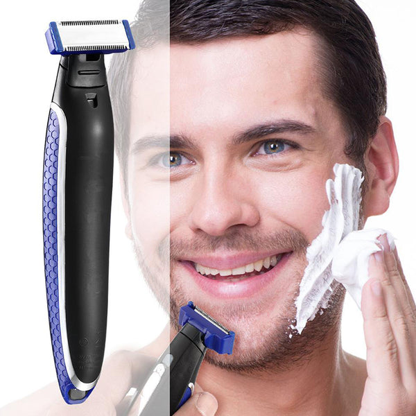 USB Rechargeable Shaver For Men Shaver Beauty Beard Shaver Cleaning Machine Razor Trimmer Fast Hair Shaving Machine