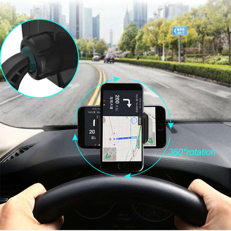 New car phone holder HUD direct view road car navigation bracket